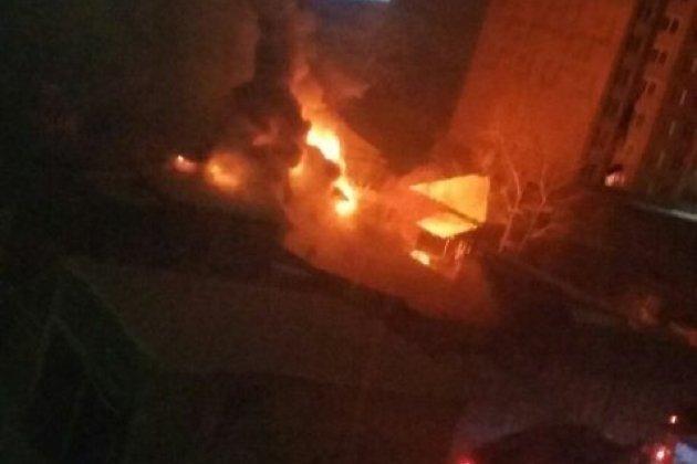 Напожаре вИркутске семья отравилась угарным газом