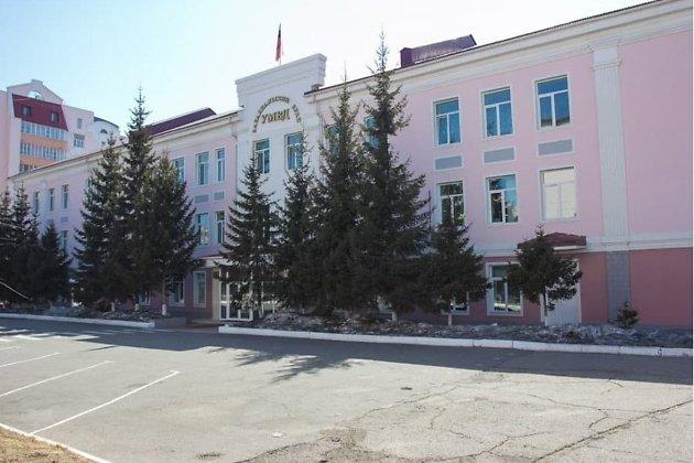 Здание краевого УМВД Забайкалья