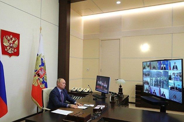 Видеосовещание о ситуации в Тулуне, сентябрь 2020 года