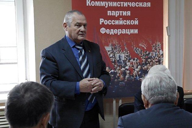 Юрий Гайдук в день избрания руководителем фракции.