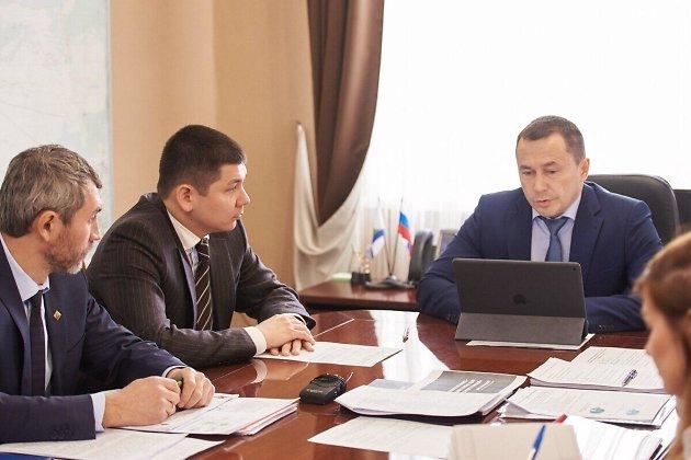 Виктор Ешеев и Дмитрий Бердников