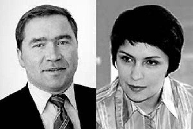 Константин Наместников и Ольга Седина