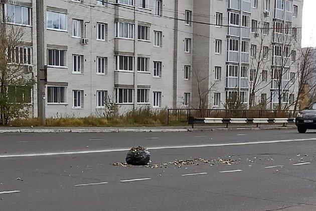Улица Богомягкова в районе перекрёстка с Кастринской