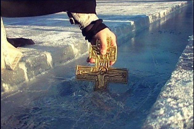 Власти Саянска отменили крещенские купания вОке из-за сильных морозов