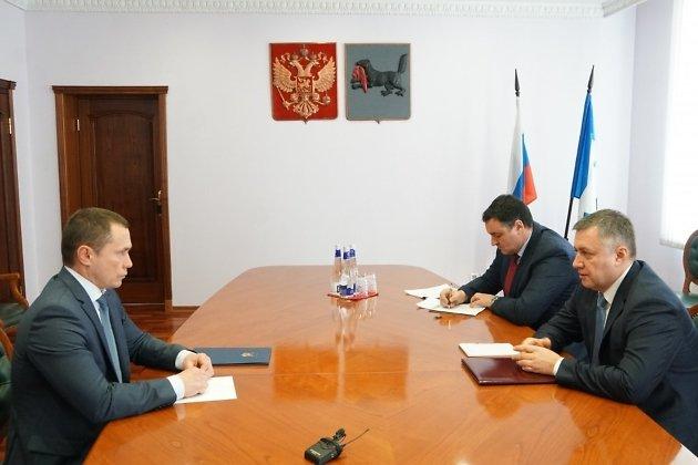 Встреча Дмитрия Бердникова и Игоря Кобзева 19 января