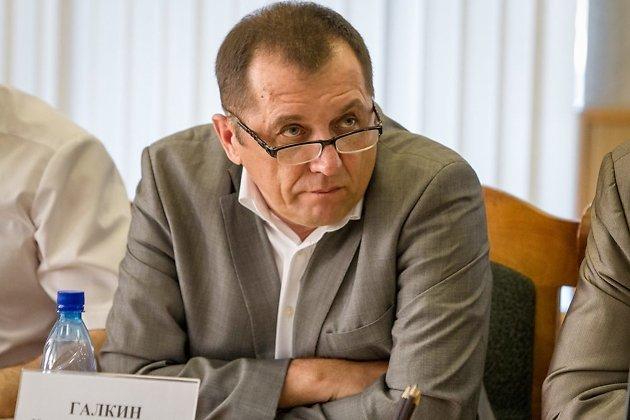 Николай Галкин во время работы депутатом