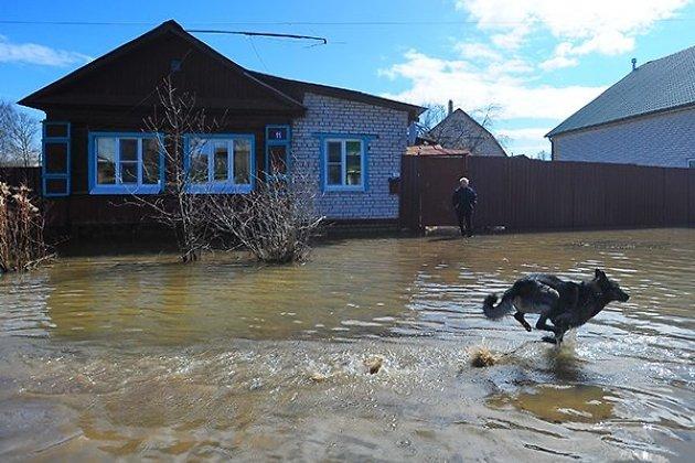 ВХомутове, где подтопило десятки домов, продолжают сражаться сталыми водами