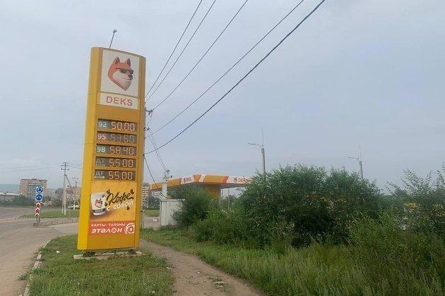 Цены на бензин в Чите на 10.08