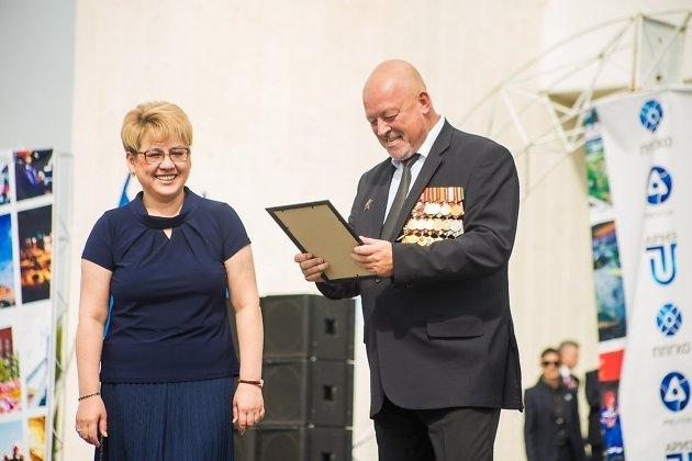Александр Глотов с экс-губернатором Забайкалья Натальей Ждановой