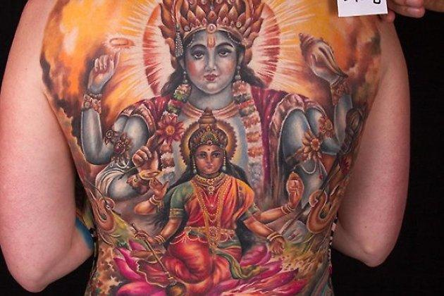 Большая татуировка. 3 место.
