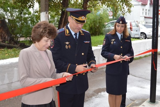 Церемония открытия нового помещения отдела по вопросам миграции ОМВД России по Читинскому району
