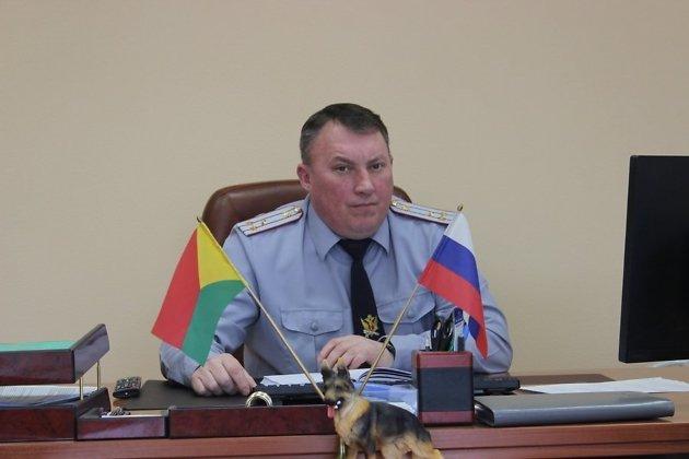 Глава УФСИН по Забайкальскому краю Евгений Шихов