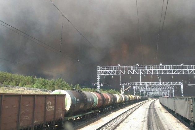 ВЗабайкалье площадь лесных пожаров засутки увеличилась вдвое