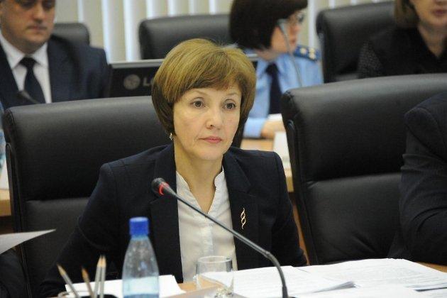 Министр финансов Забайкалья Марина Кириллова