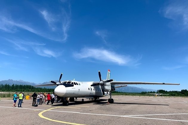 Аэропорт в Чаре