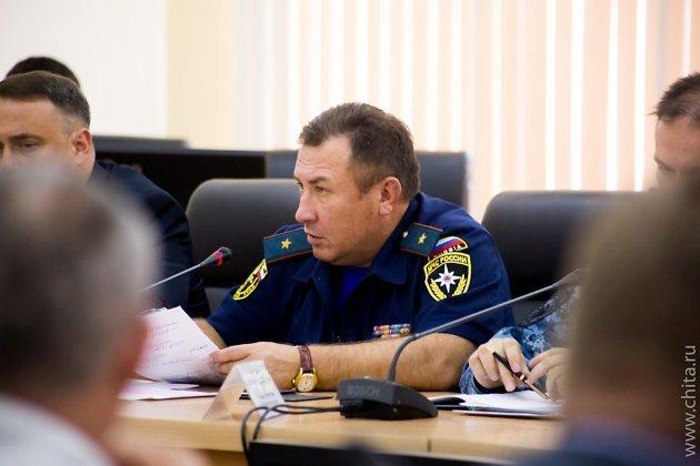 Начальник ГУ МЧС по Забайкальскому краю
