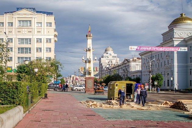 Начало реконструкции площади Ленина