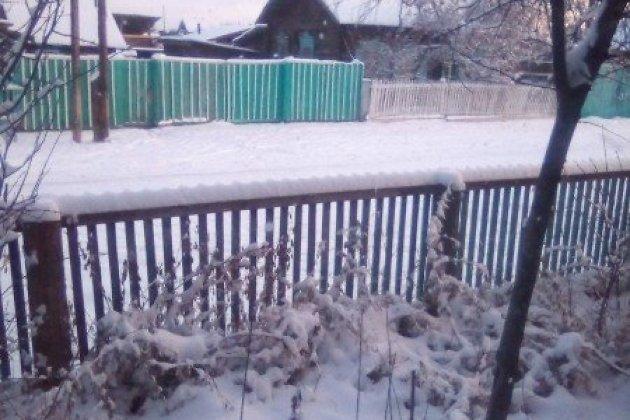 Снег в Кыре