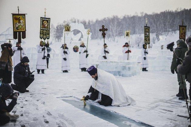 Роспотребнадзор запретил крещенские купания взаливе «Еловый» под Иркутском