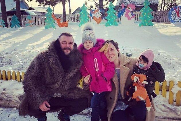 Фёдор, Вера, Саша и Сюся - встреча в посёлке Первомайский