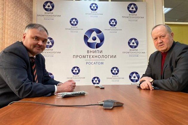 Встреча ректора СКГМИ с директором Забайкальского филиала АО «ВНИПИпромтехнологии» Юрием Андронаки