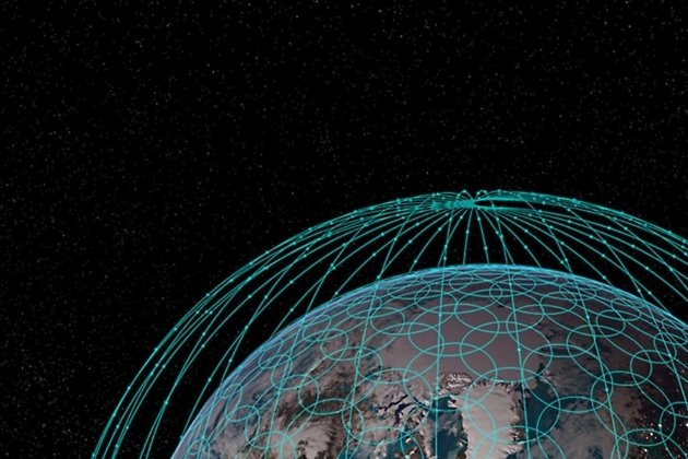 Схема орбит спутников OneWeb