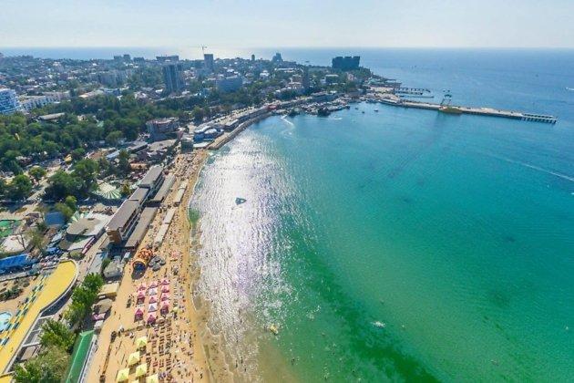 Анапа - городской пляж