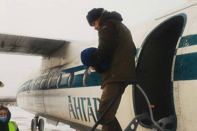 Александр Осипов прилетел на чартере в Чару