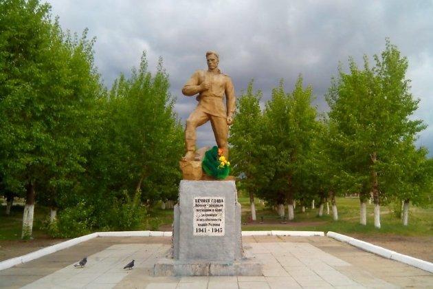 Памятник воинам-борзинцам, сражавшимся на боях Великой Отечественной войны