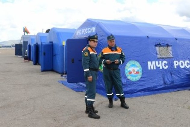 ВЗабайкалье cотрудники экстренных служб  эвакуировали 15 граждан  подтопленного поселка