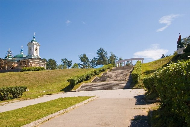 Иерусалимскую лестницу вИркутске начнут благоустраивать летом 2017г.