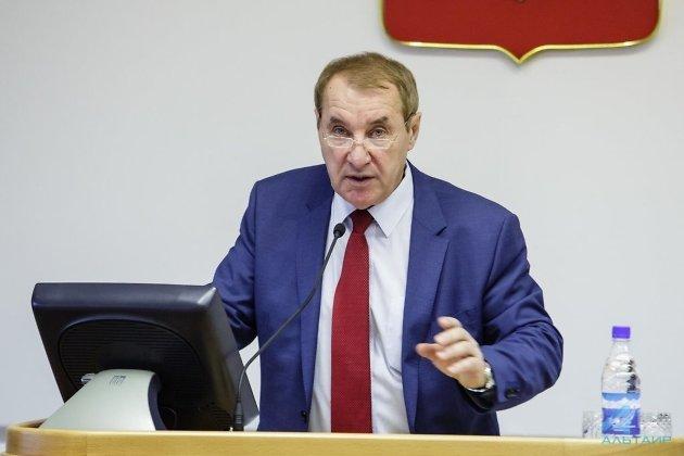 Владимир Матиенко сложил полномочия депутата Законодательного Собрания