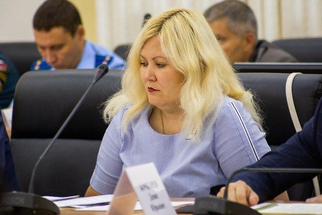 Евгениия Батуева, министр ЖХК Забайкальского края