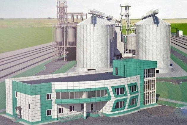 Эскиз зернового терминала у Мациевской