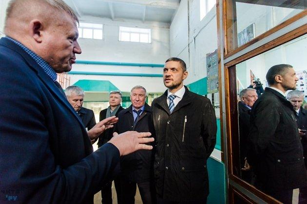Александр Осипов в командировке