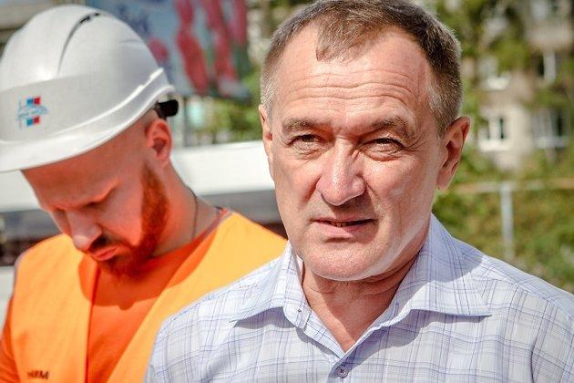 Начальник управления жилищно-коммунального хозяйства мэрии Сергей Скурыдин