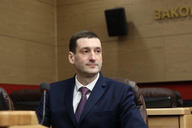 Глава правительства Иркутской области Константин Зайцев
