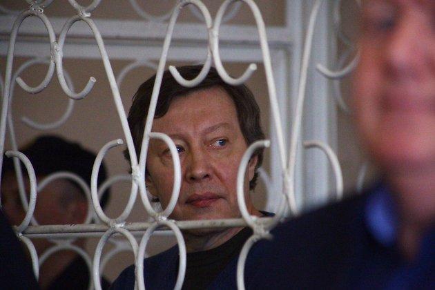 Михаил Лазуткин на оглашении приговора