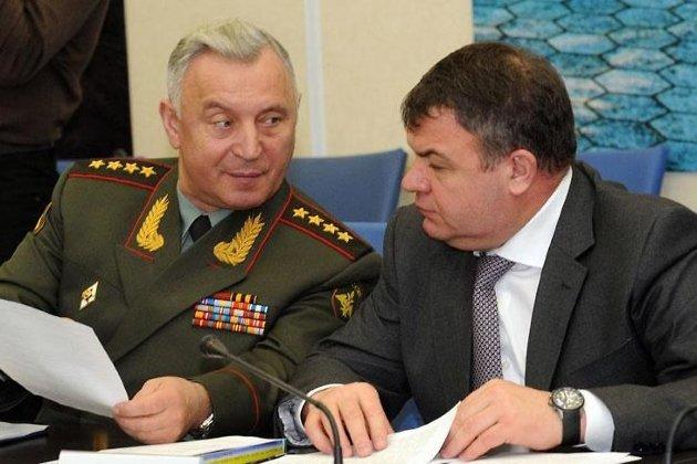 Николай Макаров и Анатолий Сердюков