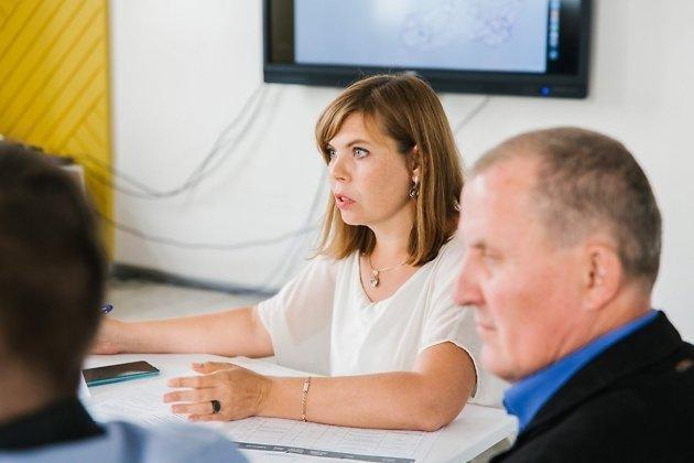 Глава Корпорации развития Забайкальского края Елена Реутская