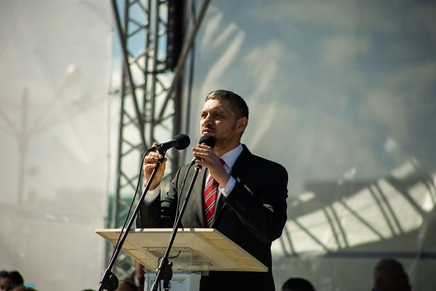 Александр Осипов на Дне города в Чите