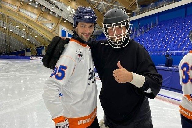 Кристоффер Фагерстрём (слева) и Григорий Лапин
