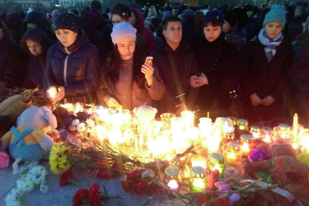 Акция памяти в Чите