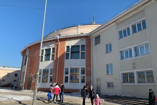 Здание Иркутского цирка