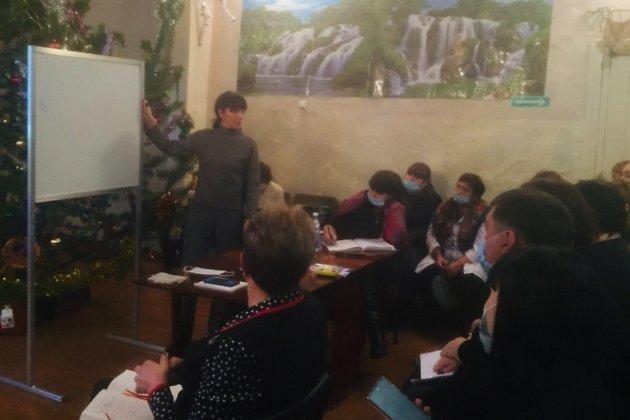 Встреча министра здравоохранения региона Анны Шангиной с жителями села Харагун