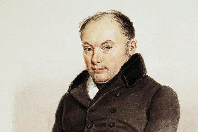 Портрет поэта Василия Жуковского