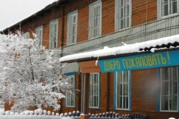 здание старой школы в Алыгджере