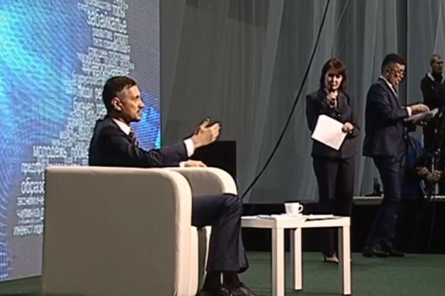 Александр Осипов на «Прямом разговоре»