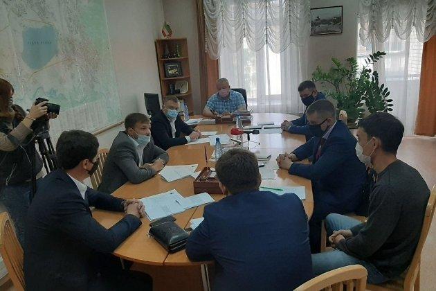 Заседание комитета ЖКХ гордумы Читы, 21 мая