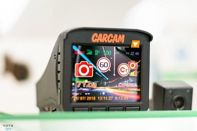 Радар-детектор и видеорегистратор Carcam